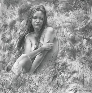 Pencil drawing by Russian artist Denis Chernov