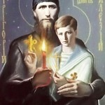 Saint Rasputin with Prince Alexey