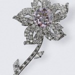 The Williamson Brooch showcases the finest pink diamond ever found