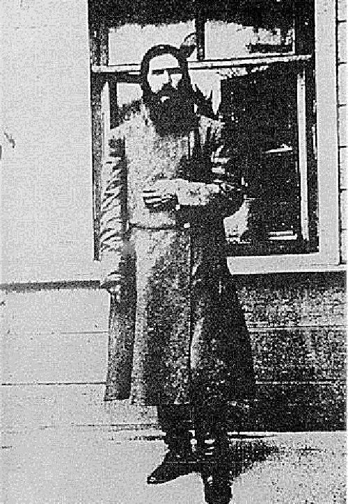 Old photo, Rasputin