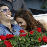 Beautiful couple Ronaldo and Irina Shayk