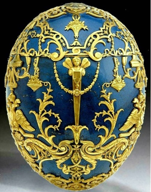 Egg 'The Prince'. Made in 1912 by the imperial jeweler Carl Faberge