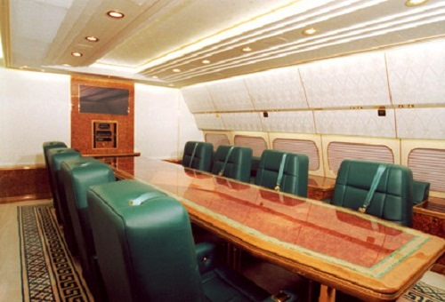 The Russian presidential aircraft