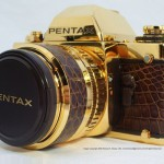 Pentax LX gold camera made ​​of pure gold