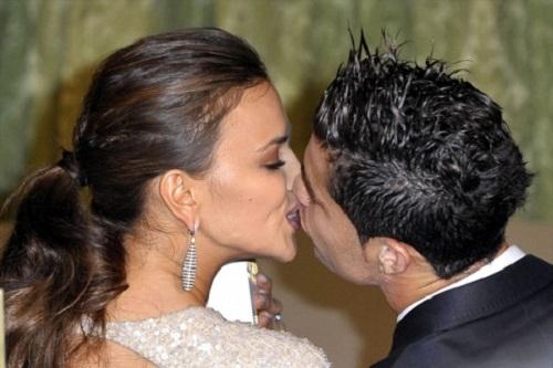 Russian model Irina Shayk and Cristiano Ronaldo