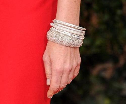 A set of bracelets