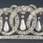 The Vladimir Tiara once belonged to Russian Grand Duchess Maria Pavlovna and was bought in 1921 by Queen Mary