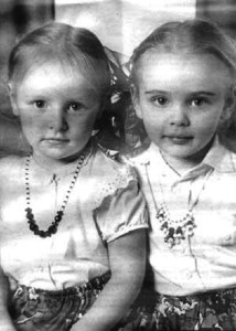 Two beautiful daughters Mariya and Yekaterina Putina