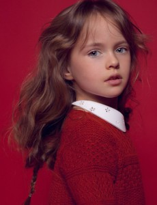 Gorgeous child model Kristina Pimenova, 4. Moscow, Russia