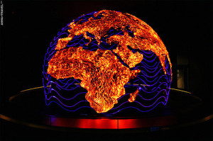 four-meter globe