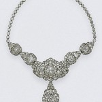 the Nizam of Hyderbad Necklace was another wedding present to the young Elizabeth