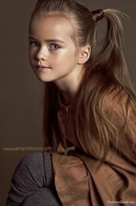 Photo by Alena Nikiforova. Beautiful child model Kristina Pimenova