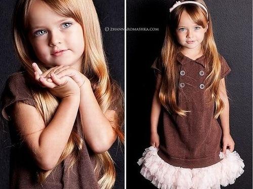 Amazing child model Kristina Pimenova