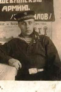 Putin's father served in the submarine fleet (1932)