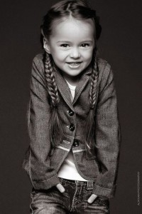 Just a little angel. Beautiful child model Kristina Pimenova