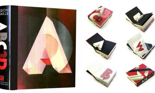 ABC3D, 3D pop-up book featuring the alphabet, by Marion Bataille