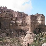 Unique Al Hajjara town in Al Bayda Governorate, Yemen