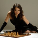 Aleksandra Kosteniuk chess grandmaster and model