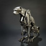 Andrew Chase's steam punk sculpture