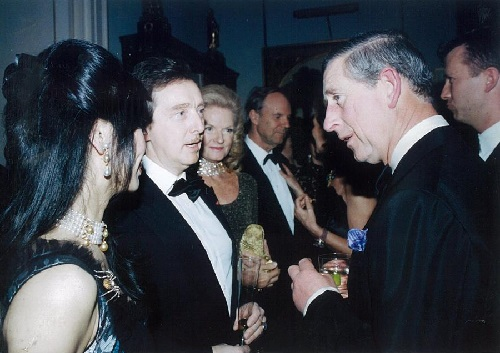 Andreas von Zadora-Gerlof and Prince Charles