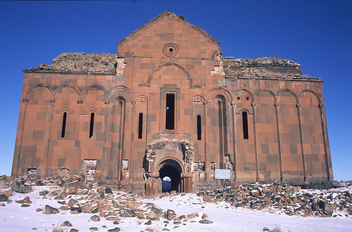 One of many churches of Ani