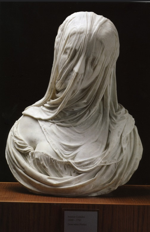 Lady under the veil