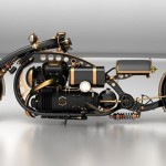 "Steampunk Chopper ""Black Widow"""