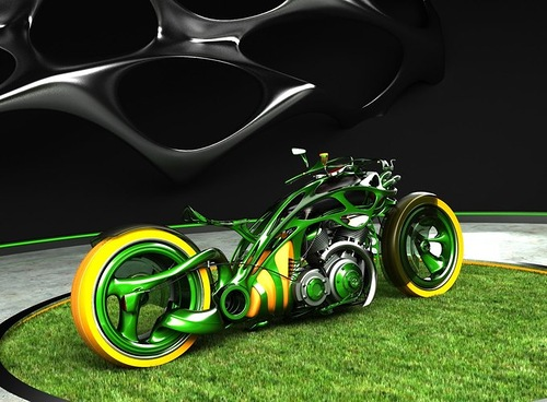 Auto and Moto Concepts by Mikhail Smolyanov