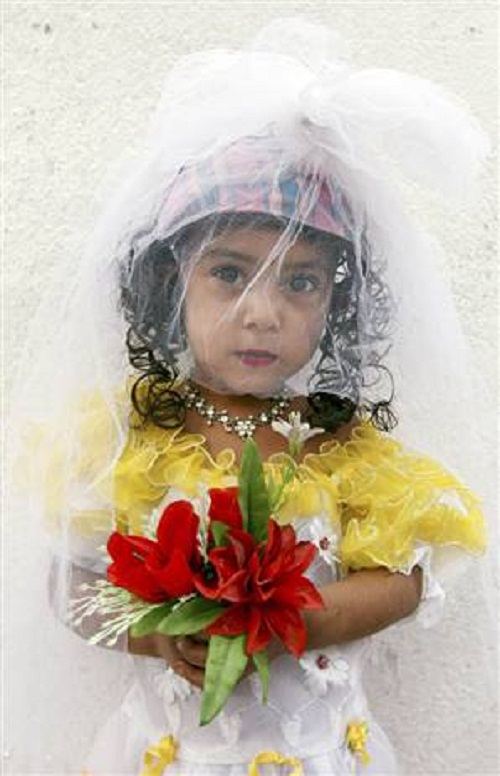 Child brides in Saudi Arabia