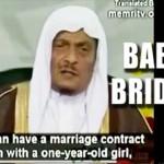 Child brides in Saudi Arabia