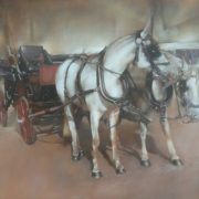 Coach with horses