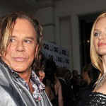 Mickey Rourke and Elena Kuletskaya