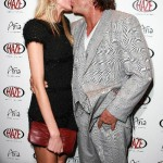 Elena Kuletskaya and Mickey Rourke