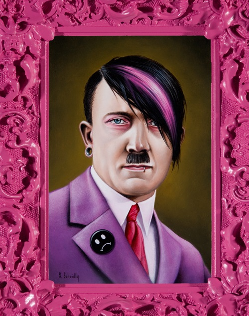 Emo Hitler, Political Portraits by Scott Scheidly