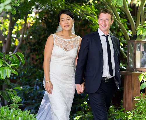 Zuckerberg and Priscilla