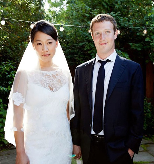 Happy together Mark Zuckerberg and Priscilla Chan