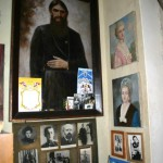 Fragment of an exposition of a museum-apartment of Rasputin