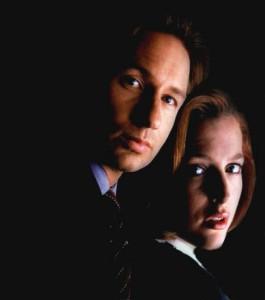Gillian Anderson, David Duchovny, the X-files
