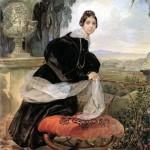 EP Saltykova. 1834