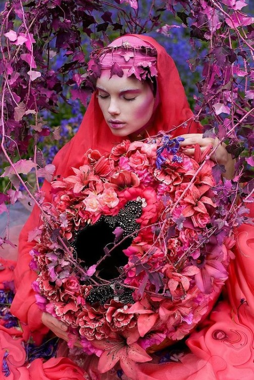 Art photographer Kirsty Mitchell