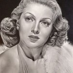 Pencil portraits of celebrities by Michelle Seo
