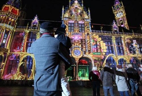 Licht Festival in Belgium