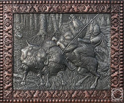 Metal artworks by Russian self-taught artist Viktor Morozov