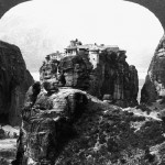 Meteora complex in Greece