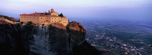 The monastery of St Stephen, part of the Meteora complex in Greece, was built in the middle of 16th and decorated in or around 1545