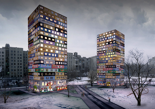 Project by Ukrainian architector Arthur Kupreichuk