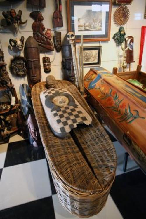 Museum of World Funeral Culture in Siberia, Russia