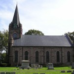 Natalie Paley was buried in the churchyard of the First Presbyterian Church in Ewing, New Jersey