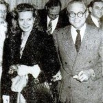 Natalie with her second husband John C. Wilson