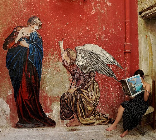 Naples, Italy, street art by Zilda. 2012 Best street art of May